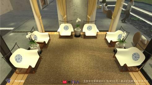 明明德設計椅  - 京悅設計(台灣):  衛浴 by 京悅室內裝修設計工程(有)公司|真水空間建築設計居研所