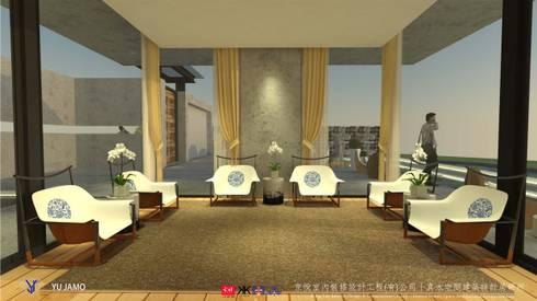 明明德設計椅  - 京悅設計(台灣):  書房/辦公室 by 京悅室內裝修設計工程(有)公司|真水空間建築設計居研所