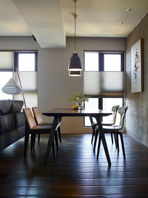 餐廳:  餐廳 by 樸十設計有限公司 SIMPURE Design
