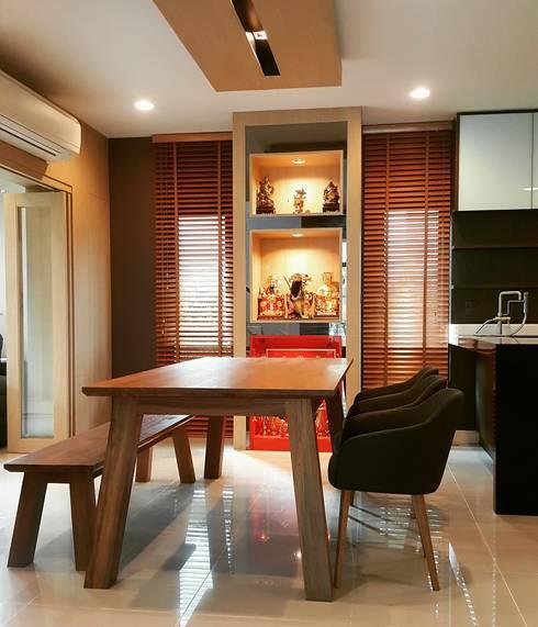 Location : เศรษฐสิริ กรุงเทพกรีฑา:   by ID Studio interior design & built-in furniture
