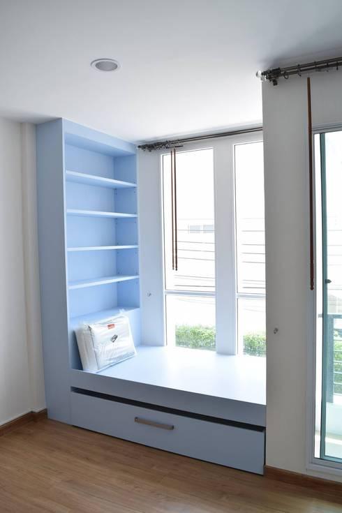 ผลงานการออกแบบตกแต่งภายในห้องนอนเด็ก:   by Parametric Design