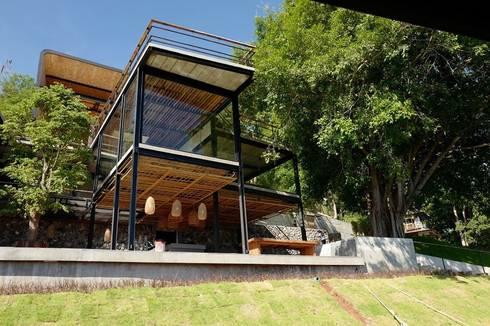อาคารlobby&all day dinning:  โรงแรม by Dersyn Studio Co.,Ltd.