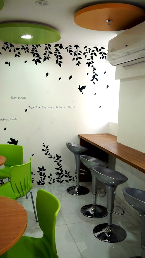 Commercial Interior Projects:  Artwork by deZinebox