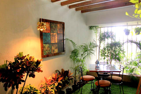 Residential Interior Projects: modern Garden by deZinebox