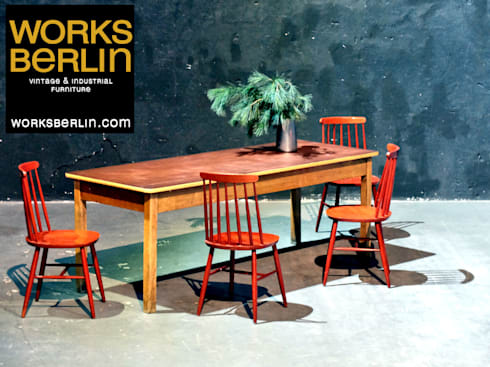 industrial Dining room by works berlin
