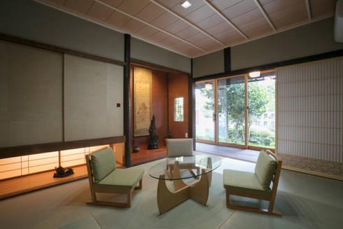 和室: 株式会社井蛙コレクションズが手掛けた和室です。