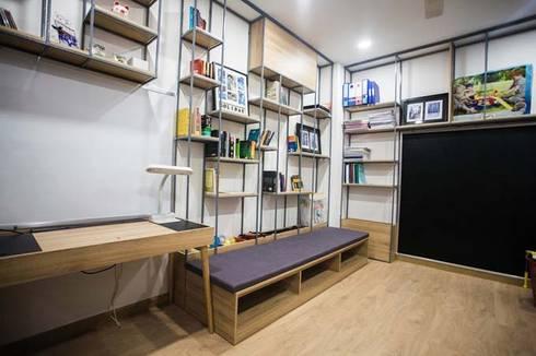 Không gian tầng 3 – nơi sinh hoạt vui chơi lý tưởng:  Phòng học/Văn phòng by Công ty TNHH Xây Dựng TM – DV Song Phát