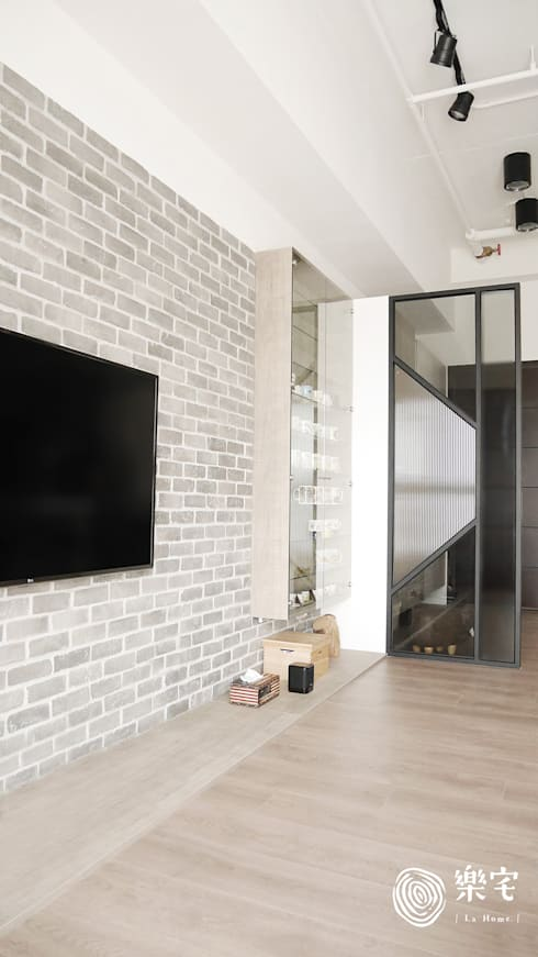 .:  客廳 by 樂宅設計|系統傢俱