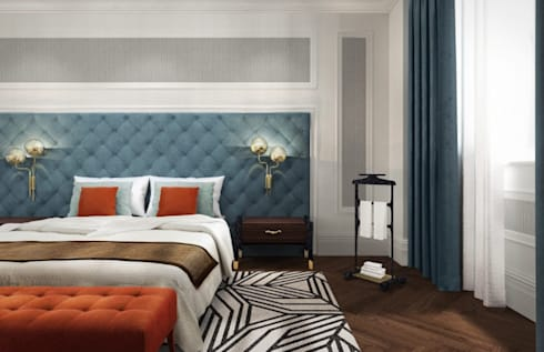 modern Bedroom by BRABBU Design Forces