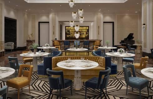 modern Dining room by BRABBU Design Forces