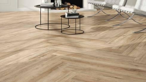 Ambiente acolhedor em madeira ceramica por lizmundo salas - Pavimento ceramico exterior ...
