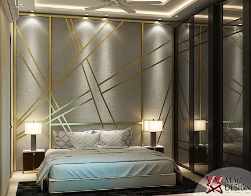 eclectic Bedroom by MAD DESIGN