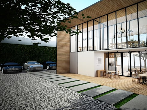 industrial Houses by Zero field design studio