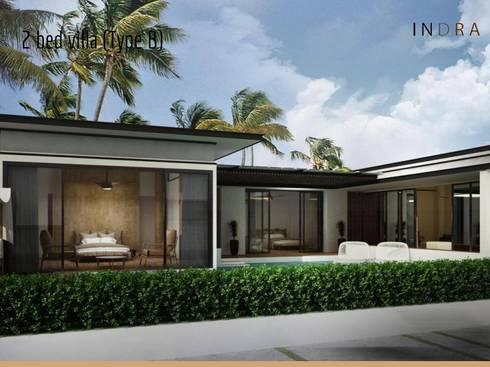 Tungtong Beach villas:   by Indra haus