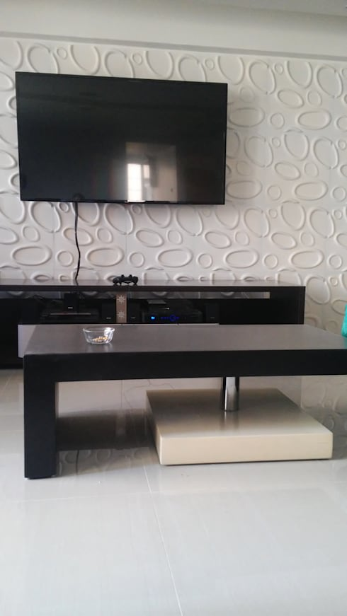 mobiliario Sala: Salas / recibidores de estilo minimalista por Arquigrafic, c.a.