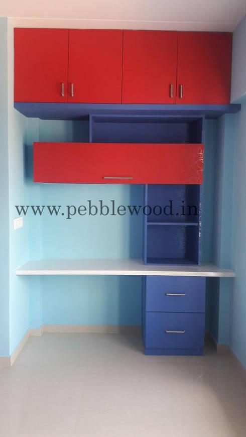 Nandi Citadel—E303: modern Nursery/kid's room by Pebblewood.in