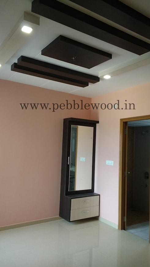 Nandi Citadel—E303: modern Dressing room by Pebblewood.in