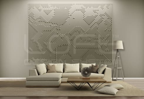 Wandgestaltung Mit Gips mural kollektion großformatige wandbilder aus gips in 3d optik by