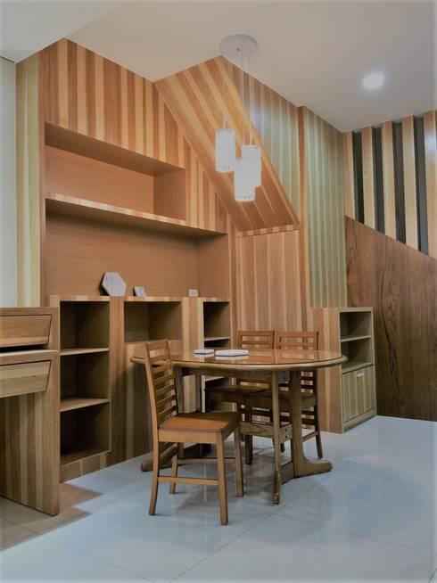 寶佳室內設計及施工:  餐廳 by 寶佳室內裝修工務所