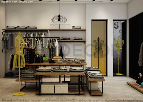 Project: SH1701 Fashion Shop & Studio/ Bel Decor:   by Bel Decor