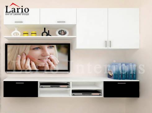 TV unit:  Living room by Lario interiors