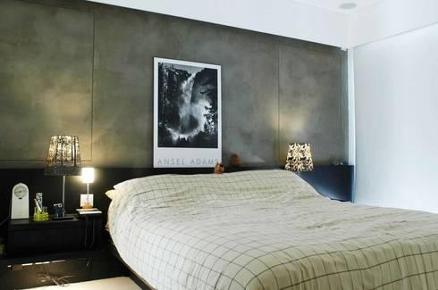 Formwell Garden: modern Bedroom by Clifton Leung Design Workshop