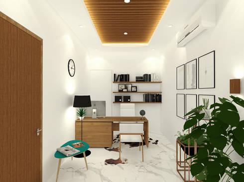 Director Room / Office Room:  Ruang Kerja by SEKALA Studio