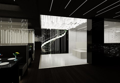 Three Stories:  Floors by OFIA - Office For International Architecture