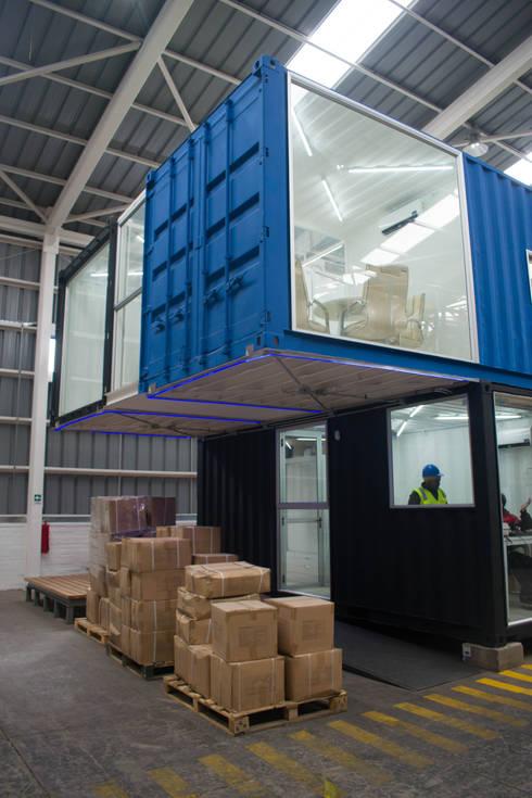 Centro de Distribución <q>PromoMarketing</q>: Bodegas de estilo  por JVA