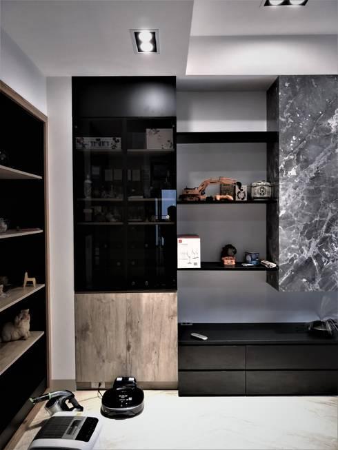 Air &sunlight 光合作用:  客廳 by 喬克諾空間設計