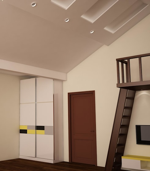 Wardrobe : rustic Nursery/kid's room by NVT Quality Build solution