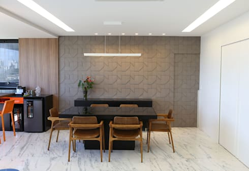modern Dining room by Mutabile