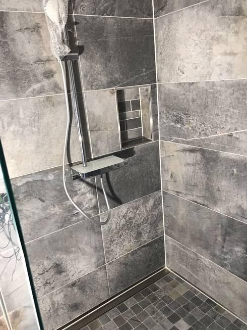 Dusche In Steinoptik