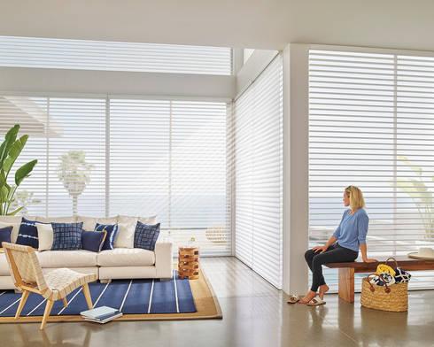 shangrila triple sheer blind:  Windows & doors  by www.liyublinds.com