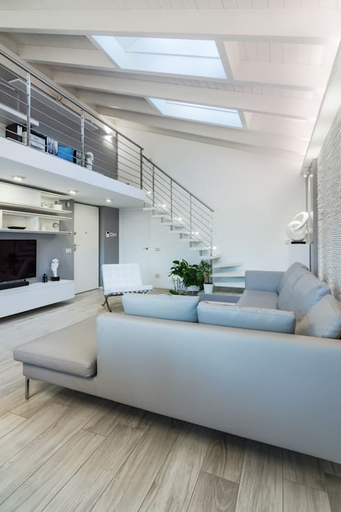 客廳 by ZEROPXL   Fotografia di interni e immobili