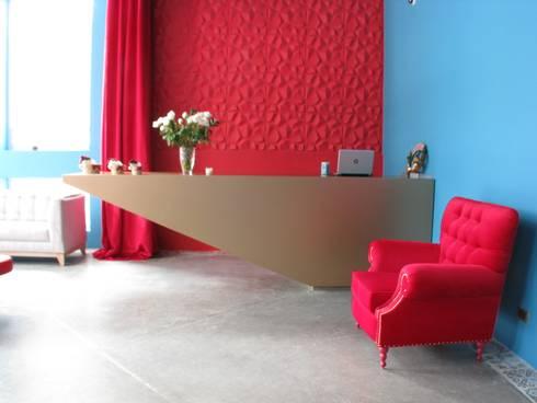 Mobiliario recepción: Spa de estilo moderno por Domicilio