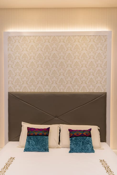 Head board : modern Bedroom by NVT Quality Build solution