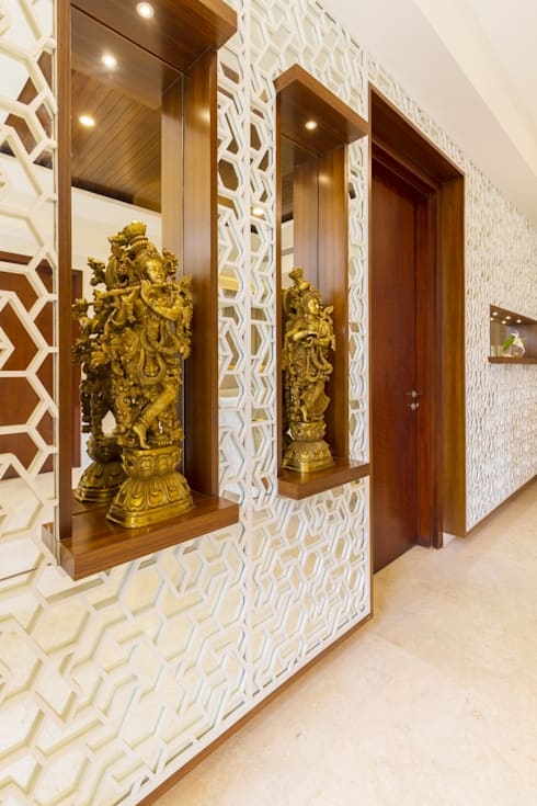 Mirror paneling :  Walls by NVT Quality Build solution
