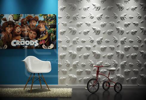 Wandgestaltung Mit Gips wandgestaltung im kinderzimmer by loft design system deutschland
