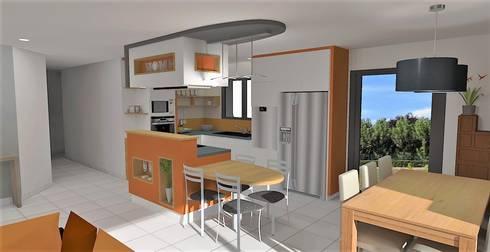 Projet d\'aménagement et décoration d\'intérieur - Belligné (44) von ...