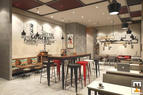 Gong Cha Da Nang:  Nhà hàng by NT.DESIGN