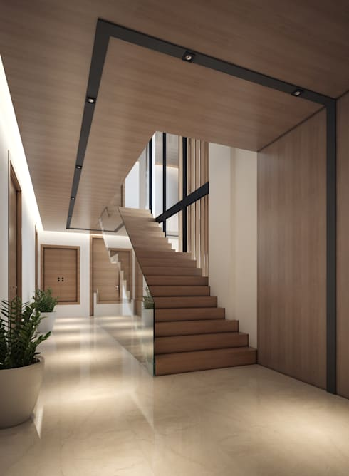 SK House:  ตกแต่งภายใน by IDB GROUP (Thailand)