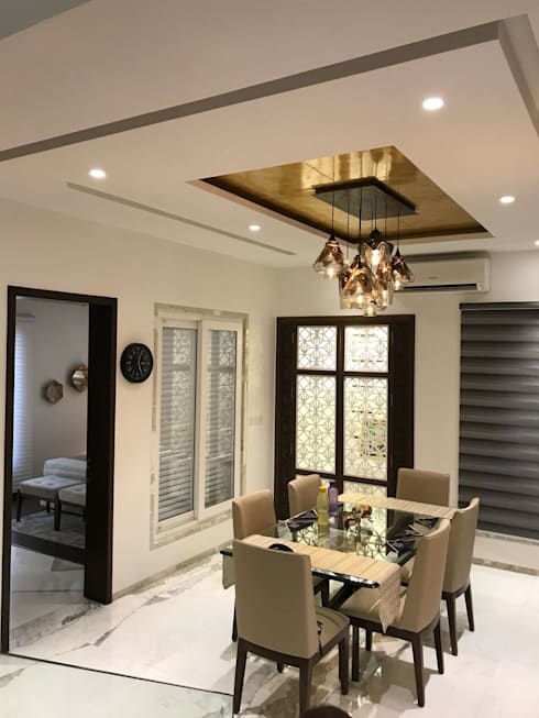 Dining Area : modern Dining room by HM DESIGNZ