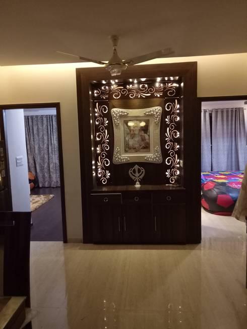 modern Living room by SpaceedgeInterior
