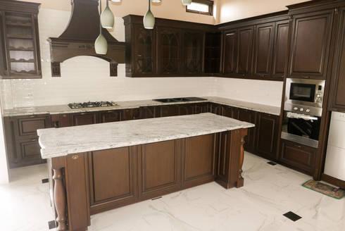 Viscon White Granite Kitchen Countertop in Guadalupe, Cebu City: classic Kitchen by Stone Depot