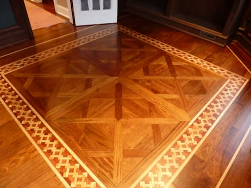classic Study/office by Shine Star Flooring
