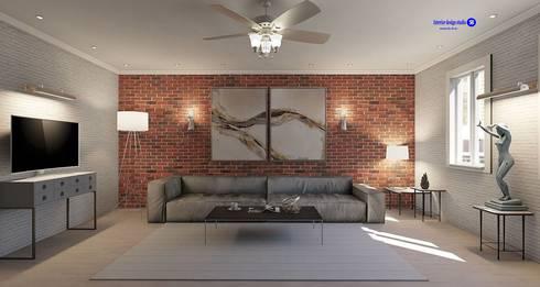 Living room  in Loft style: modern Living room by 'Design studio S-8'