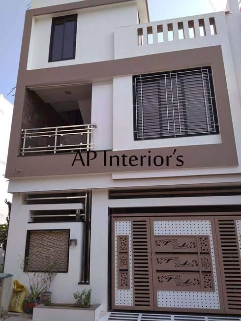 Interiors: modern Houses by Studio An-V-Thot Architects Pvt. Ltd.
