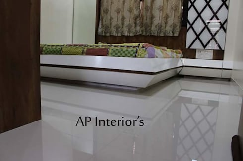 Interiors: modern Bedroom by Studio An-V-Thot Architects Pvt. Ltd.