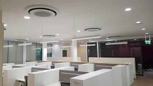 Interiors and exterior:   by eko aircon